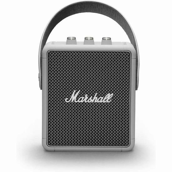金盒头条:Marshall 马歇尔 Stockwell II 限量版 便携式蓝牙音箱7折 209.99加元包邮!