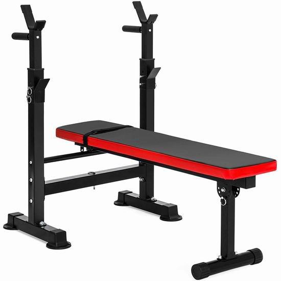 历史新低!BalanceFrom 多功能家用健身凳7.1折 119.68加元包邮!