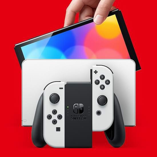 新品预售!Nintendo 任天堂 OLED屏幕 便携式游戏机 449.99加元包邮!2色可选!