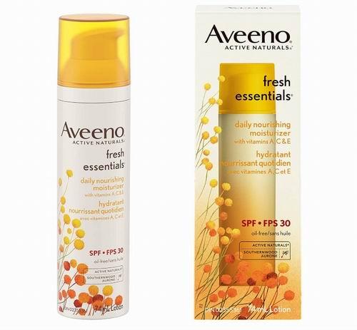 Aveeno 保湿滋养面霜SPF 30  74毫升 14.55加元,原价 17.97加元