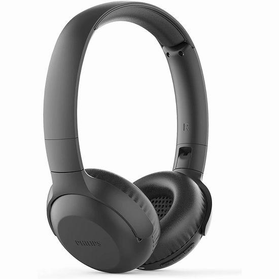 白菜价!Philips 飞利浦 UpBeat UH202 头戴式蓝牙无线耳机3.5折 19.97加元清仓并包邮!