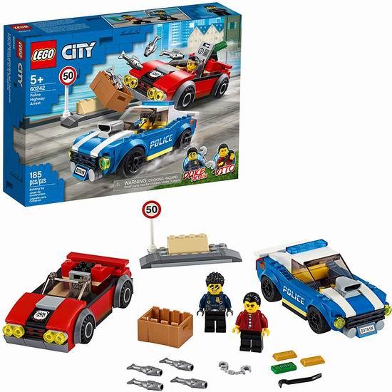 历史新低!LEGO 乐高 60242 城市系列 警察公路大追捕 29加元!