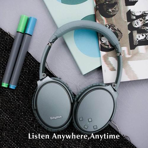 史低价!Srhythm NC35 主动降噪无线耳机 59.9加元(原价 99.99加元),2色可选