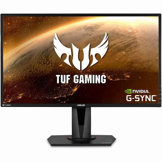 历史新低!ASUS 华硕 VG27AQ 2K IPS G-sync兼容 165Hz 1ms 电竞小金刚 27英寸游戏显示器 479.27加元包邮!