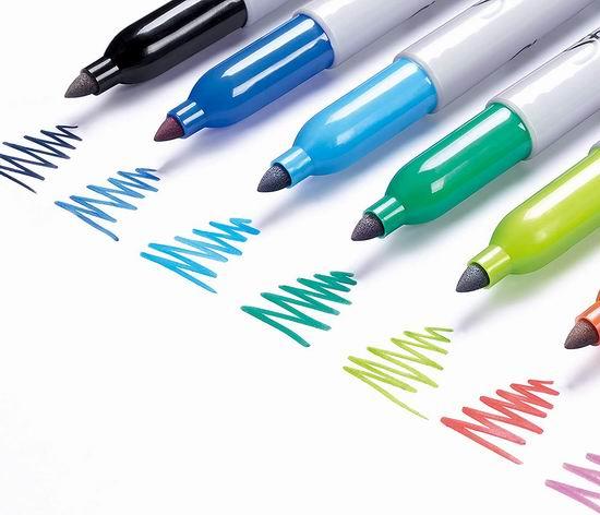 Sharpie Sanford 30217PP 8色精细彩色永久记号马克笔3.8折 4.97加元!