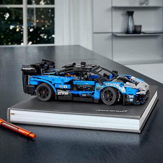历史新低!LEGO 乐高 42123 机械组 迈凯伦 塞纳 GTR赛车(830pcs)59.47加元包邮!