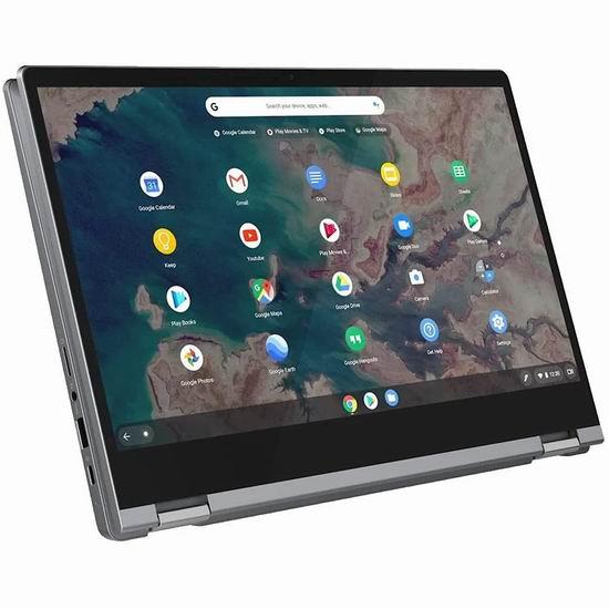 历史新低!Lenovo 联想 Flex 5 13.3英寸触控屏 二合一变形 Chromebook轻薄笔记本电脑(4GB/64GB)5折 399加元包邮!比官网低配版促销还便宜!