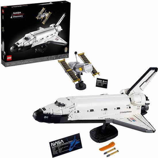 历史新低!Lego 乐高 10283 美国宇航局发现号航天飞机(2354pcs)259.61加元包邮!