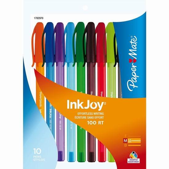 历史新低!Paper Mate InkJoy 彩色圆珠笔10件套 0.97加元清仓!