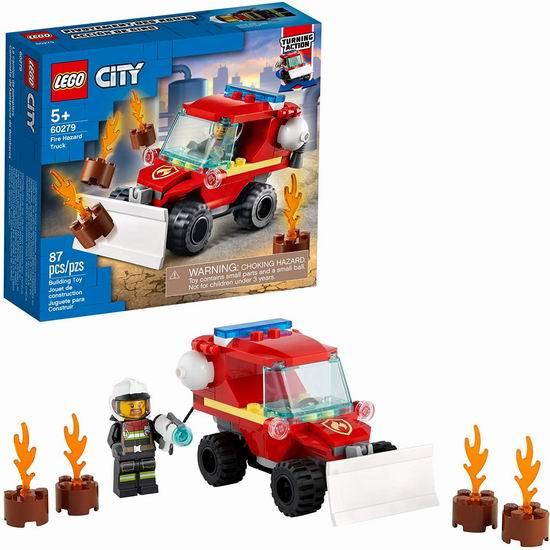 历史新低!LEGO 乐高 60279 城市系列 消防车6.4折 9加元!