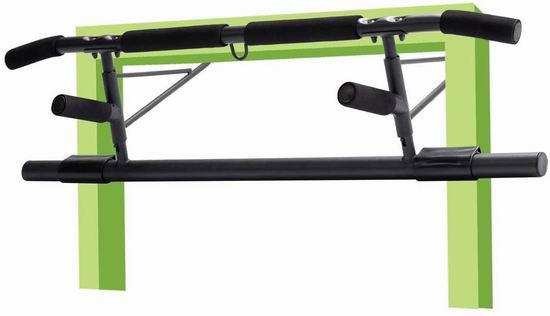 历史新低!Dulcii 引体向上/仰卧起坐 多功能重型健身拉杆4.3折 19加元包邮!