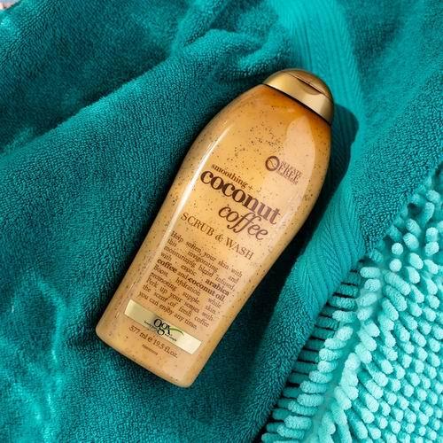 OGX 椰子咖啡身体磨砂膏  577毫升 7.99加元