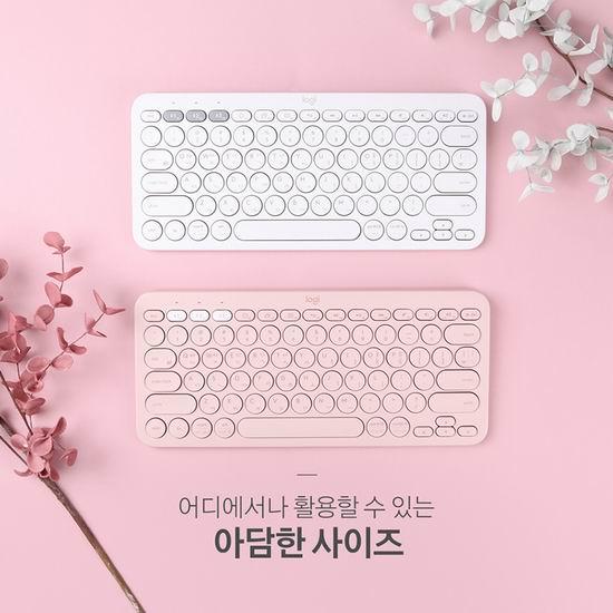 历史新低!Logitech 罗技 K380 高颜值 Mac版 多设备通用蓝牙键盘 39.99加元包邮!2色可选!粉红控必备!