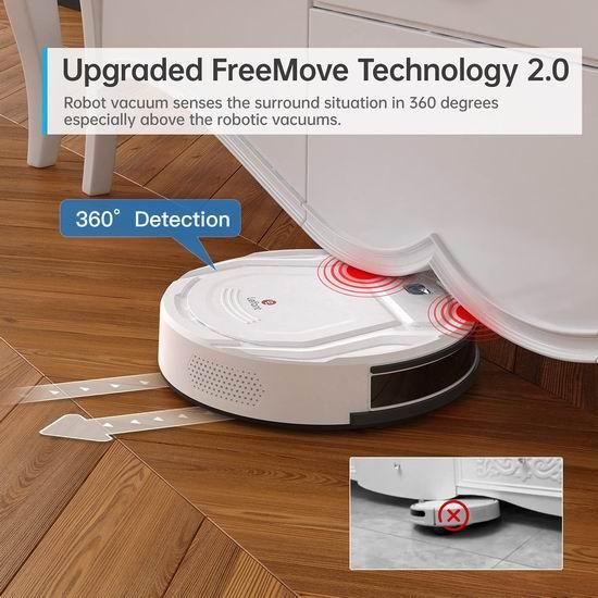 白菜价!Lefant 乐帆 M210 1800Pa 强吸力 智能扫地机器人4.3折 129.99加元包邮!