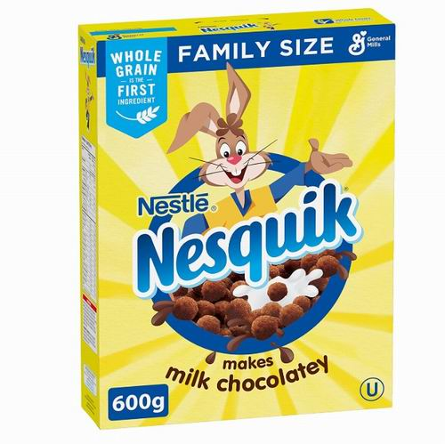 Nesquik 巧克力麦片 600克 4.97加元