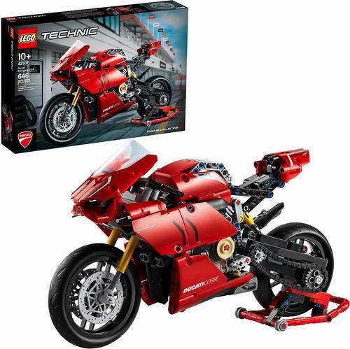 LEGO 乐高  42107 杜卡迪Panigale V4 R  88.99加元,原价 99.99加元,包邮