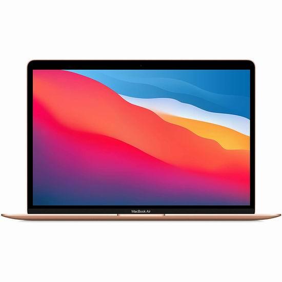 折扣升级!历史新低!Apple MacBook Air M1芯片 13.3英寸笔记本电脑 1149.99加元起包邮!性能惊人、续航超长!