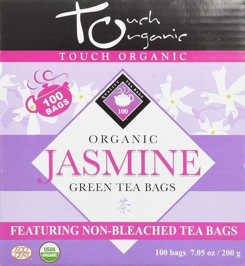 Touch Organic 中国有机茶茉莉绿茶 100包 15.6加元,原价 17.88加元