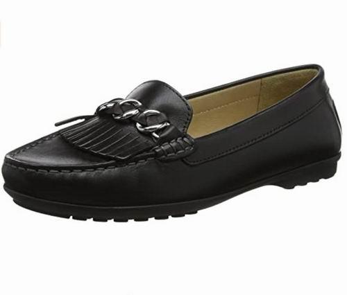 Geox  D Elidia 女士莫卡辛鞋 46.55加元(8码),原价 126.62加元,包邮