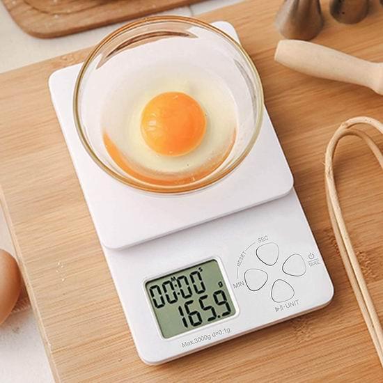 白菜价!历史新低!HOMESPON 3公斤 高精度数字厨房秤3.4折 11.24加元清仓!2色可选!