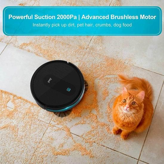 金盒头条:历史新低!INSE E6 2000Pa 超强吸力 智能扫地机器人6.4折 179.99加元包邮!仅限今日!
