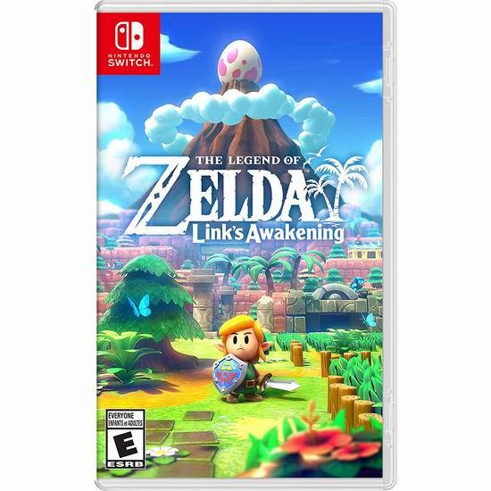 精选多款 Nintendo 任天堂 Switch版游戏全部6.9折 54.99加元包邮!