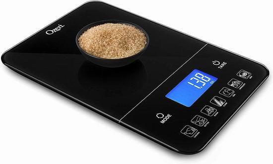 白菜价!历史新低!Ozeri Touch III 减肥小帮手 热量跟踪 10公斤 高精度数字厨房秤3.3折 14.95加元清仓!