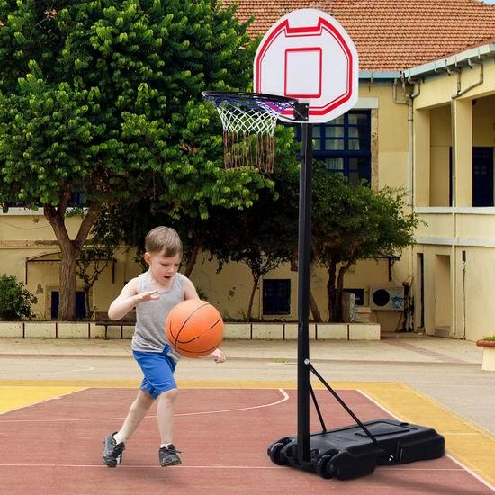 历史新低!Soozier 1.5-2.1米 成长型篮球架4.2折 67.49加元包邮!
