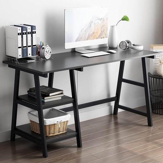 历史新低!SDHYL 55英寸 时尚电脑桌/书桌4.3折 59.99加元包邮!