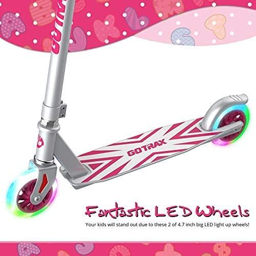历史新低!GOTRAX KX5 炫酷LED踏板儿童滑板车 35.79加元包邮!3色可选!