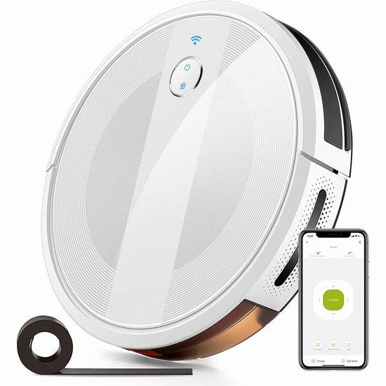 白菜价!历史新低!KYVOLHome E20 2000Pa超强吸力 WiFi智能扫地机器人4折 109.99加元清仓并包邮!