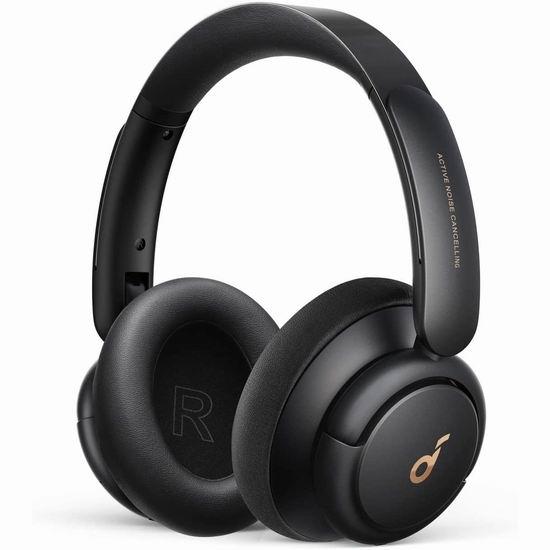 金盒头条:历史新低!Soundcore by Anker Life Q30 主动降噪 头戴式蓝牙耳机 73.99加元包邮!仅限今日!