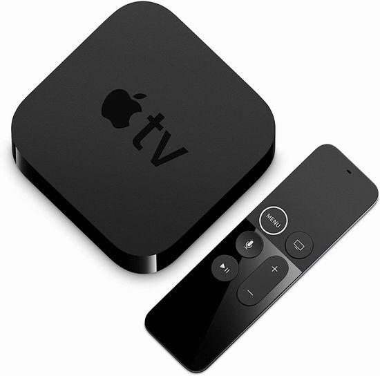 Apple TV HD 4K超高清 苹果电视机顶盒 189.99加元,原价 229加元,包邮