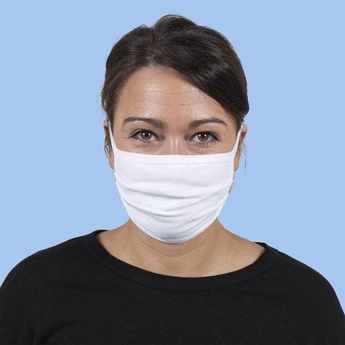 白菜价!Gildan 可重复使用 绑带式三层纯棉口罩 48个 1.99加元