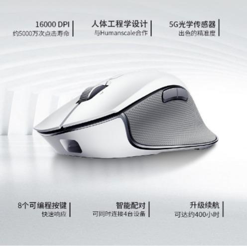 历史最低价!Razer Pro Click 人体工学无线鼠标 7.4折 99.99加元,原价 134.99加元,包邮