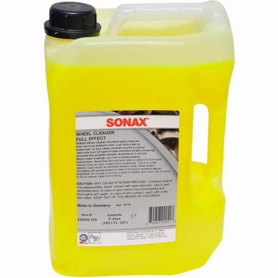 Sonax 德国索纳克斯 230500-740 汽车轮毂清洁剂(5升)7.7折 85.16加元包邮!