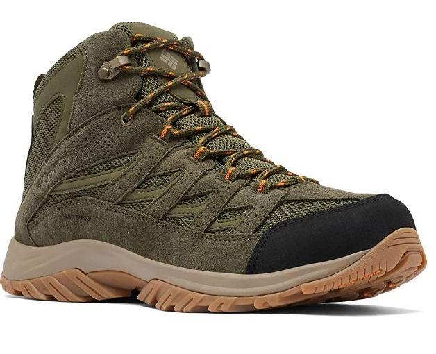 Columbia Crestwood Mid男士防水户外靴 69.42加元(8码),官网原价 129.99加元,包邮