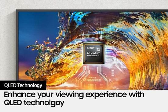 历史新低!Samsung 三星 The Frame 画壁系列 QN50LS03AAFXZC 50英寸 4K QLED光质量子点电视 1298加元包邮!