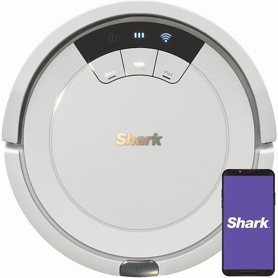 历史新低!Shark ION AV752 Wi-Fi 智能扫地机器人 189.12加元包邮!比美国便宜120加元!