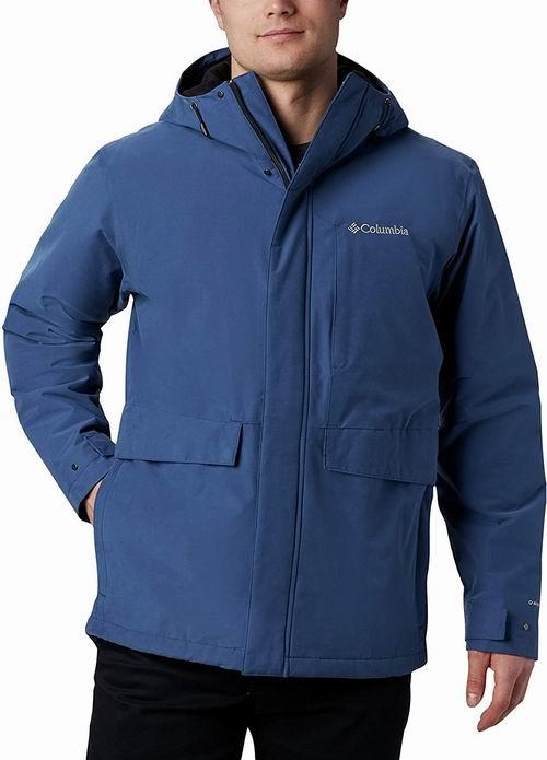 Columbia  Firwood 男士防水带帽夹克 68.96加元(XL码),原价 229加元,包邮