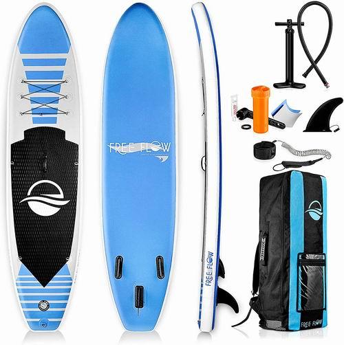 SereneLife 10.6英尺 SUP充气站立式桨板 432.83加元,原价 499.99加元,包邮