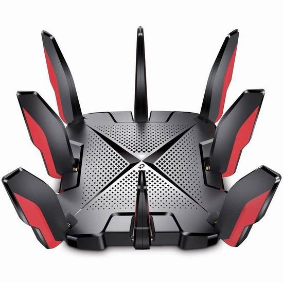 历史新低!TP-Link Archer GX90 三频并发 WiFi 6 AX6600 超高速游戏路由器7折 279.99加元包邮!