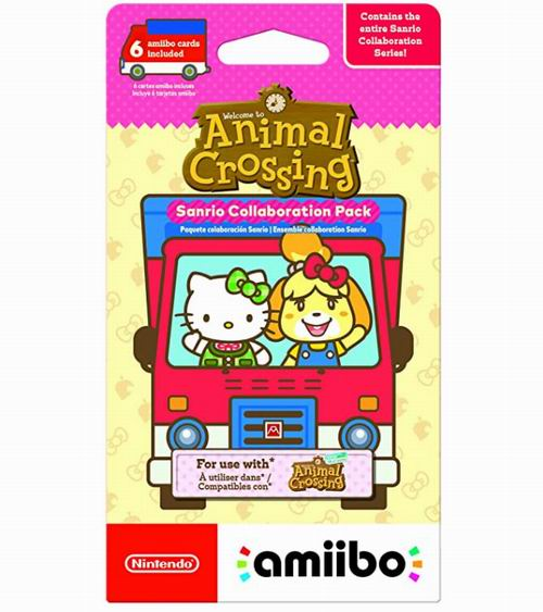 Nintendo 《动物森友会》X 三丽鸥 Amiibo 卡梦幻联动包 6.99加元起