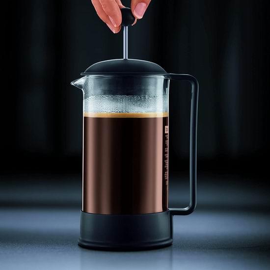 历史新低!Bodum Brazil 1.5升(12杯量) 法式压滤咖啡壶4.5折 18.15加元!