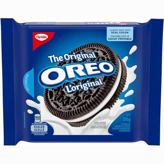 OREO 奥利奥 Birthday Cake 巧克力夹心饼干 1.99加元,4种口味可选!