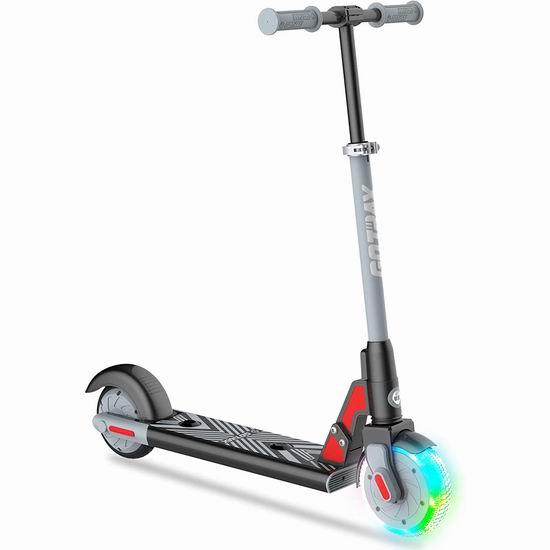 GOTRAX GKS LUMIOS 发光前轮 儿童电动滑板车5.7折 148.99加元包邮!4色可选!