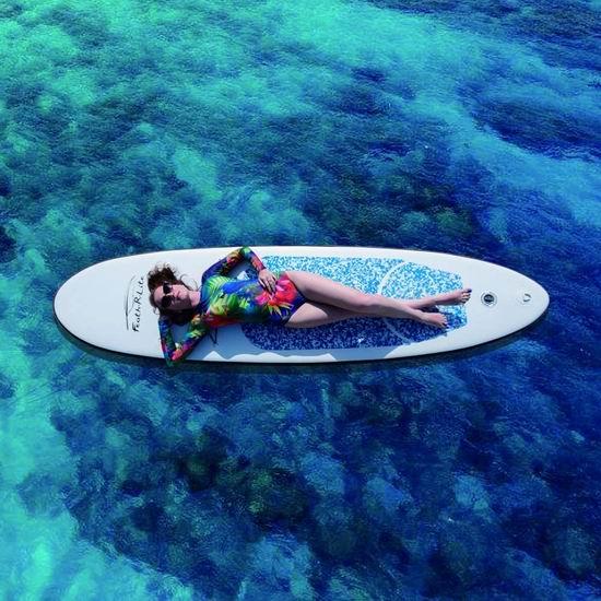Feath-R-Lite 军用级超轻PVC 10英尺 SUP充气站立式桨板5.8折 246.45加元限量特卖并包邮!2色可选!