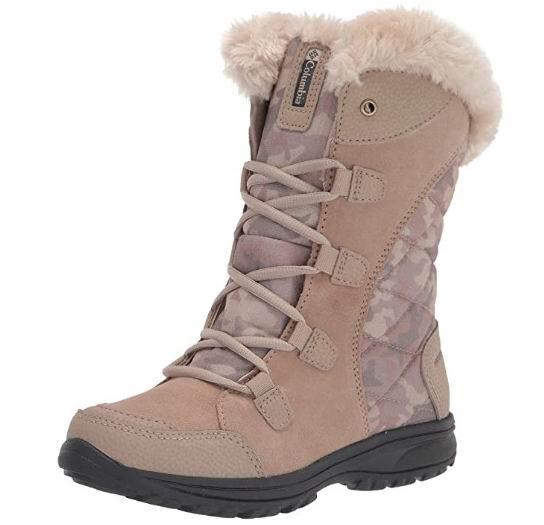 Columbia  Ice Maiden II女士防水雪地靴 87.16加元起,官网价130加元