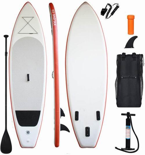 XYLOVE CO  11英尺加大 SUP充气站立式桨板 299.99加元,原价 399.95加元,包邮