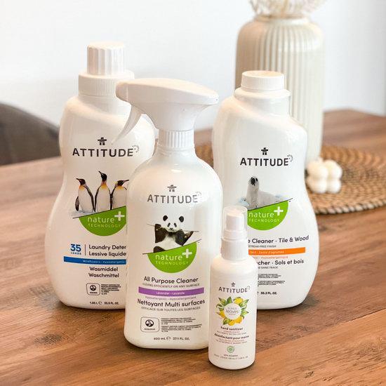 加拿大原产植物洗护清洁品牌!ATTITUDE 家用清洁剂 、宝宝洗护用品3.33加元起!